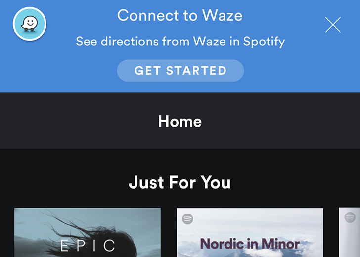 Waze and Spotify partner up to bring your music and directions together on the road