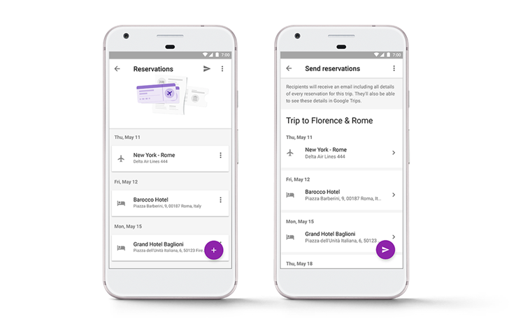Now make bus, train reservations on Google Trips