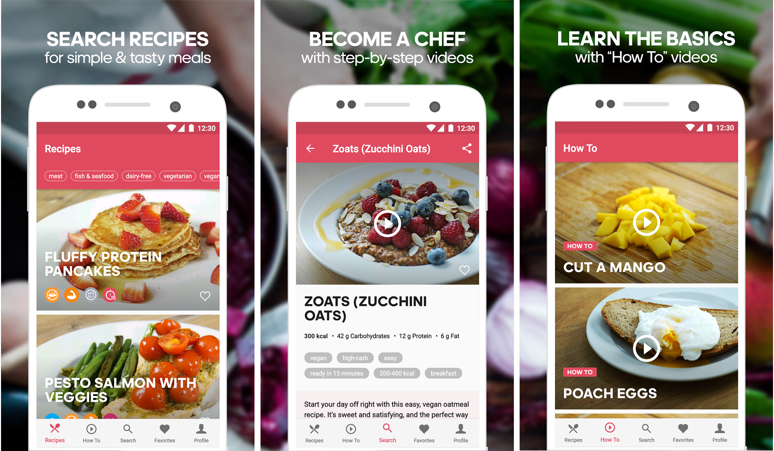 Runtastic's new app is all about healthy recipes and its name is... Runtasty
