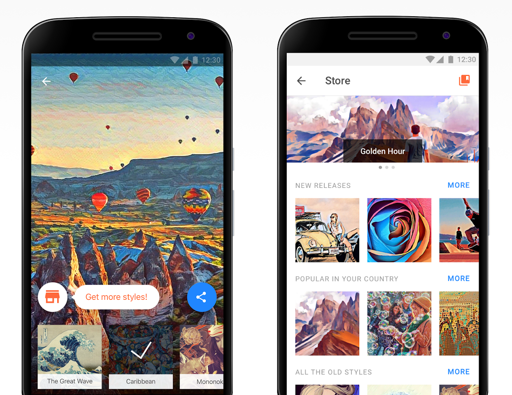 Prisma gets a new filter store, devs promise personalized