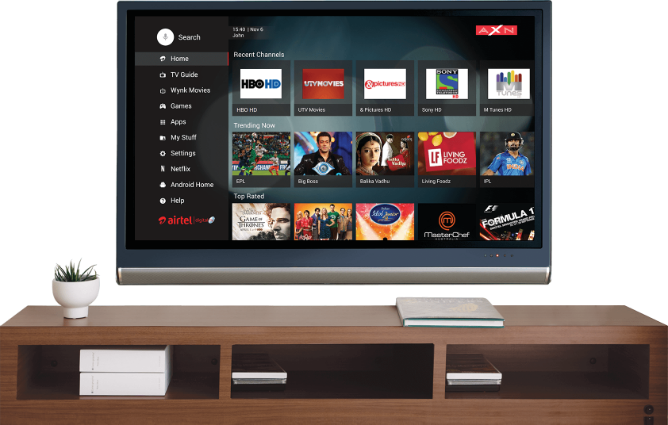 Airtel announces Internet TV for India, an Android TV box