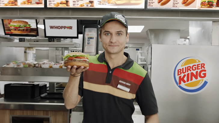 burger king commercial 2017