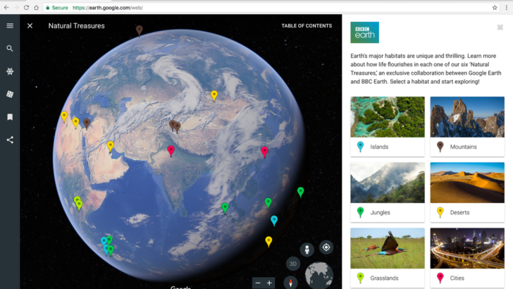 Earth Day event: New Google Earth to be launched on April 18