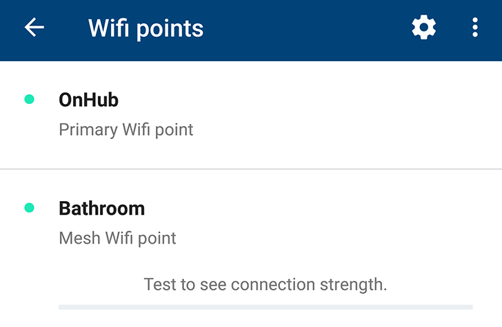 Wired Wifi Access Point | Google Wifi S App Update Also Shows Meshed And Wired Status For Each