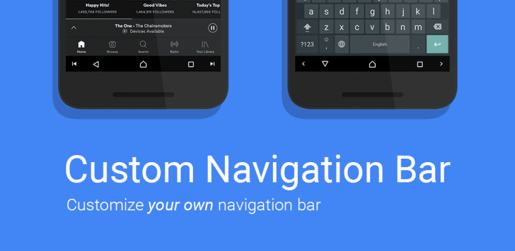 Customize your navigation bar on Nougat without waiting for