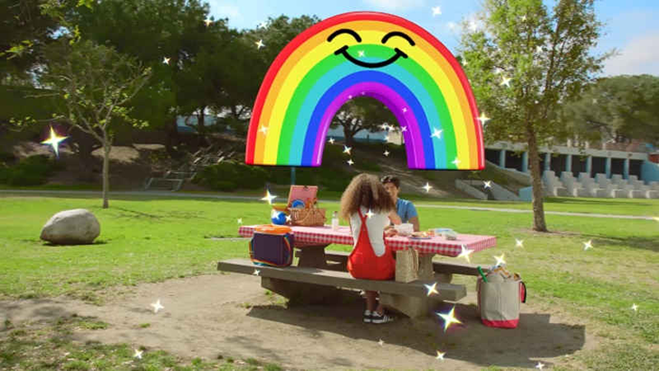[OMG Rainbows!] Snapchat adds new 3D World Lenses