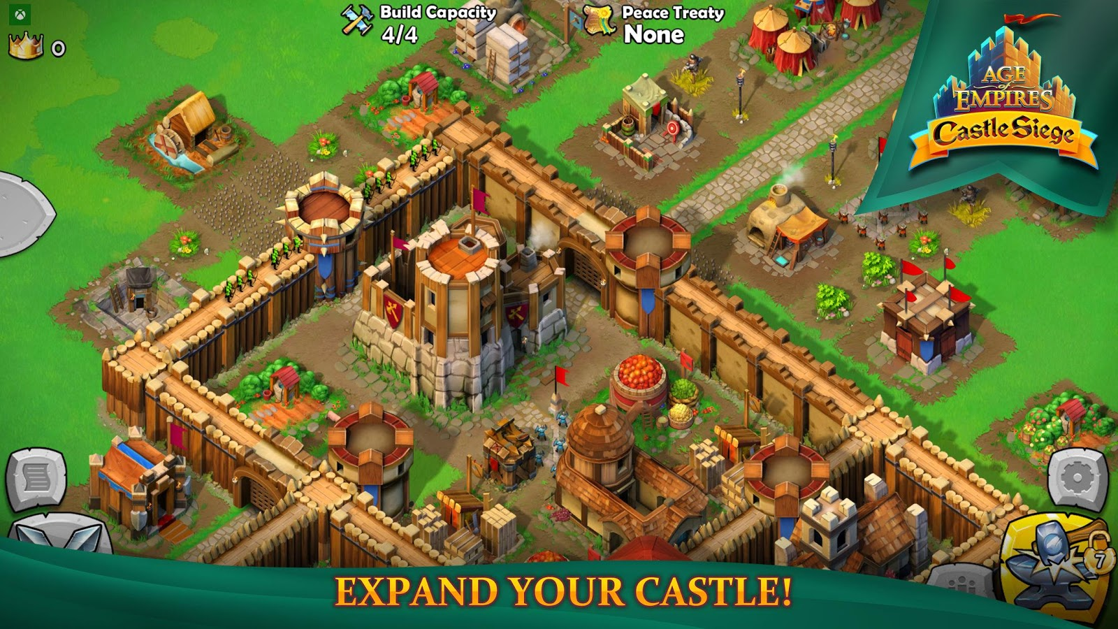 While not everything about Age of Empires: Castle Siege is a complete  waste, there is something that is actually interesting. You can sign into  the game ...