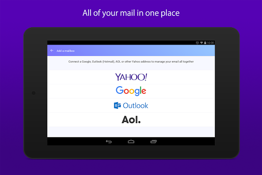 Yahoo Mail for Android updated with support for AOL and