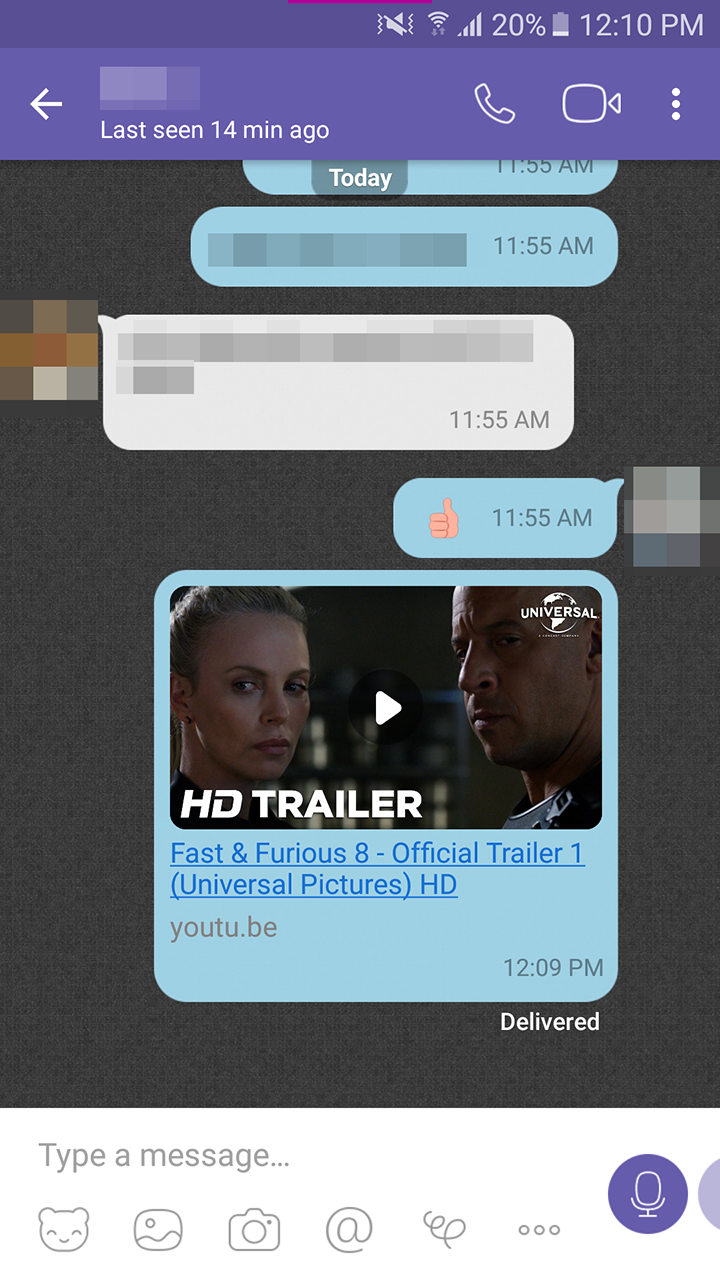 Viber adds inline YouTube playback and last seen timestamps to statuses
