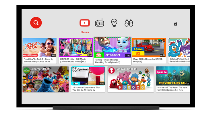 YouTube Kids App Launches On LG, Samsung, And Sony Smart TVs