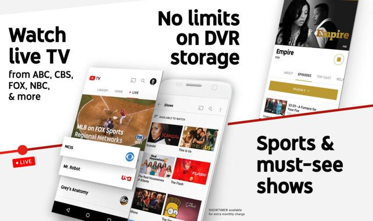 Google bringing YouTube TV to 10 new markets