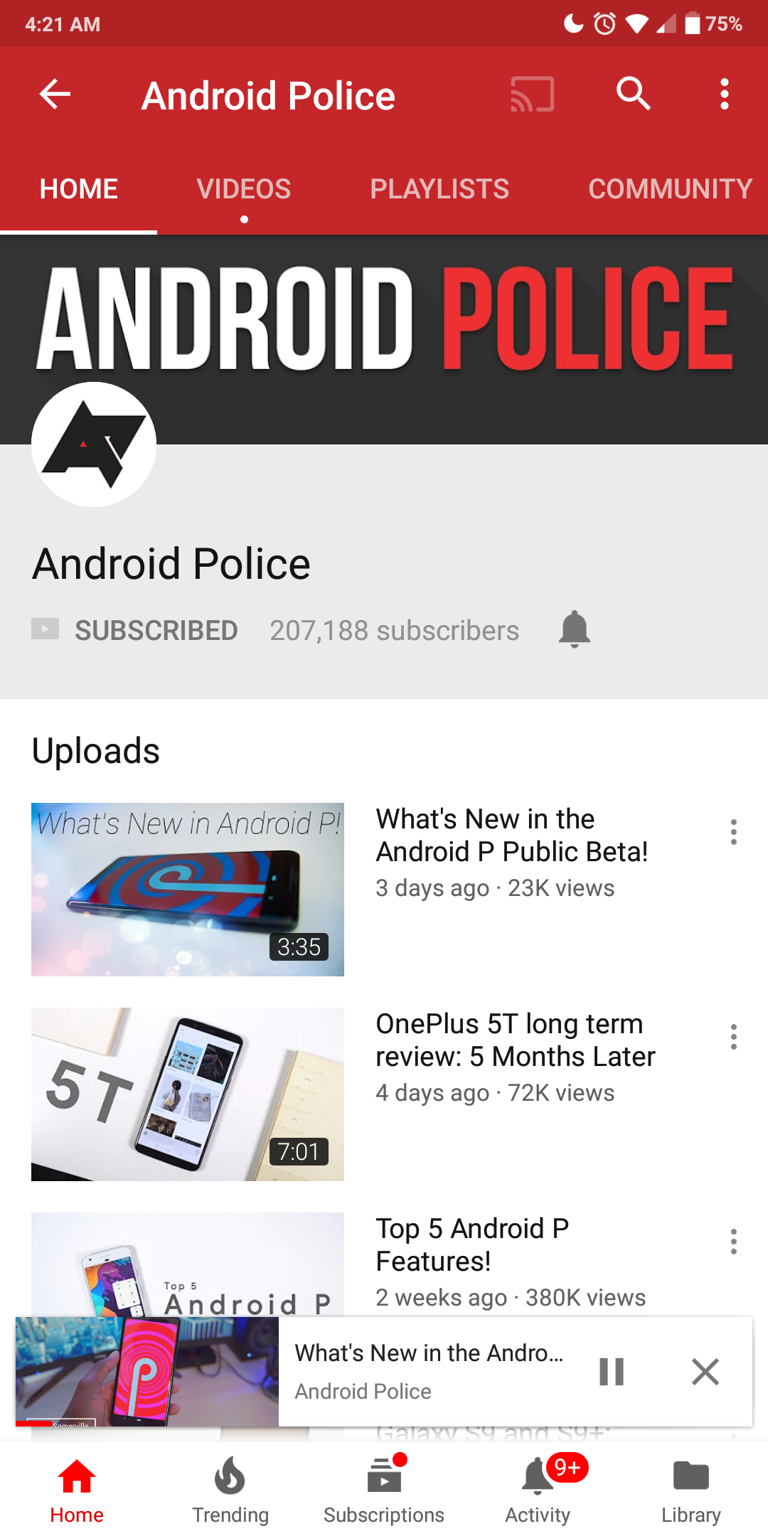 Update: Rolling out] YouTube is testing yet another UI