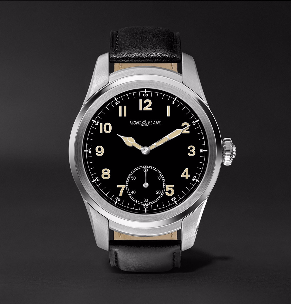 Montblanc Summit luxury smartwatch goes on sale in the United States for $890