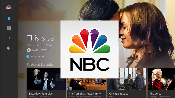 NBC Android TV Hero
