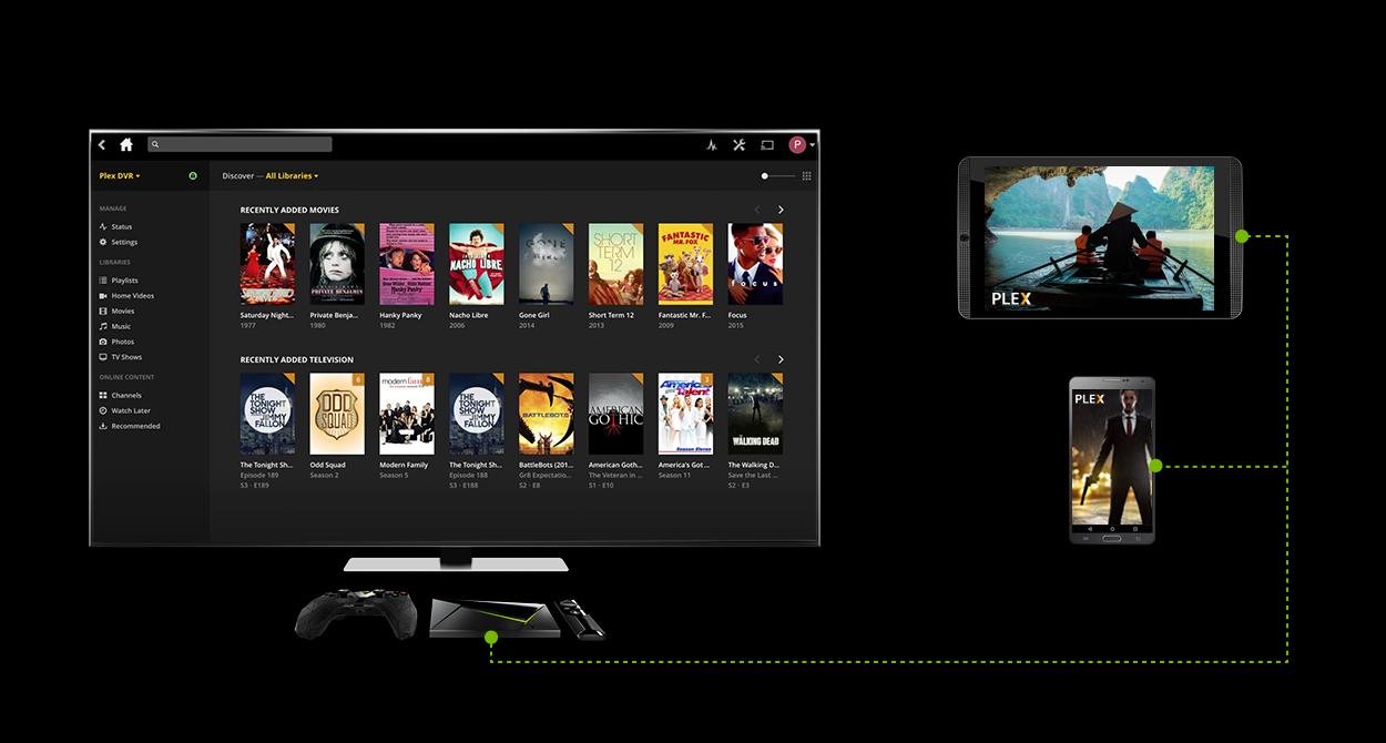 Update: Now public] SHIELD TV update v5 2 adds Plex Live TV