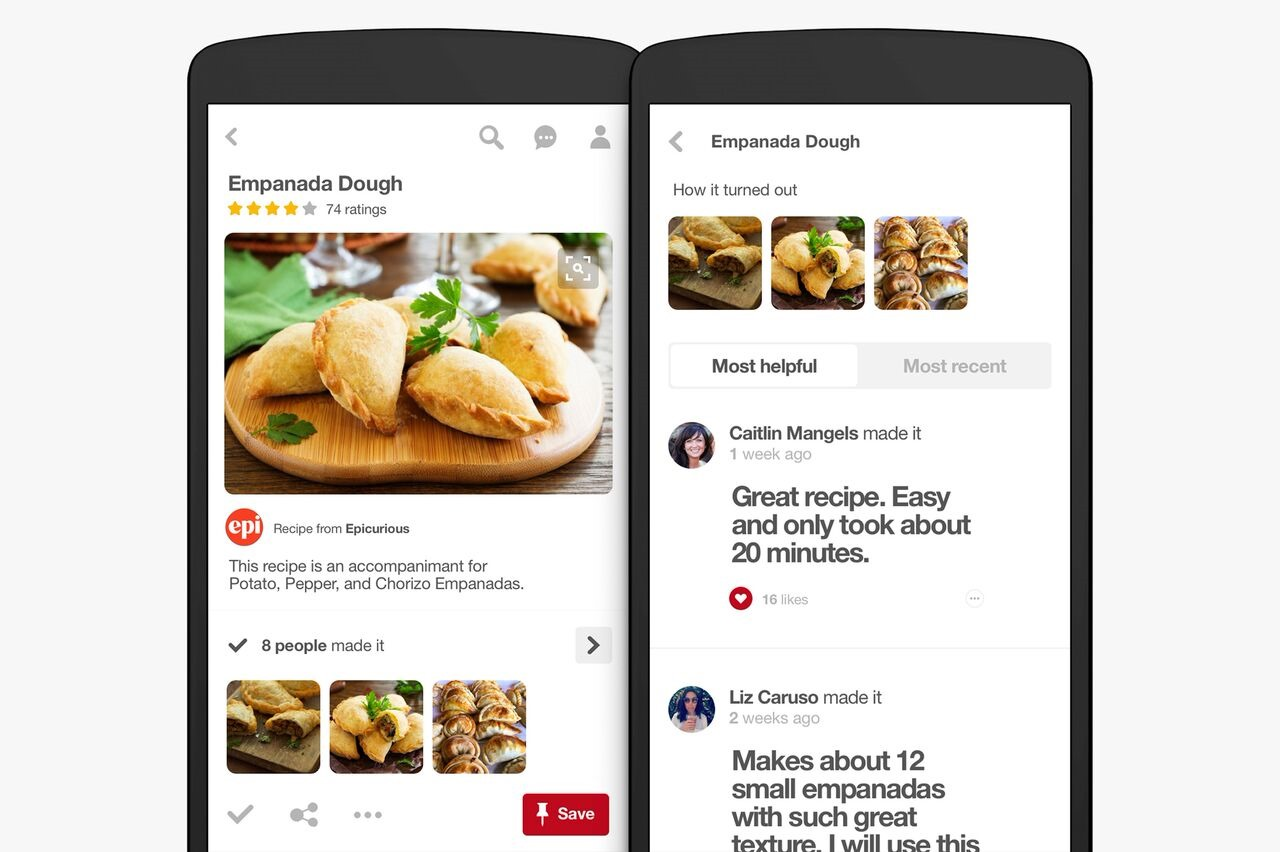 Pinterest adds new features for recipe discovery, filters, and ...