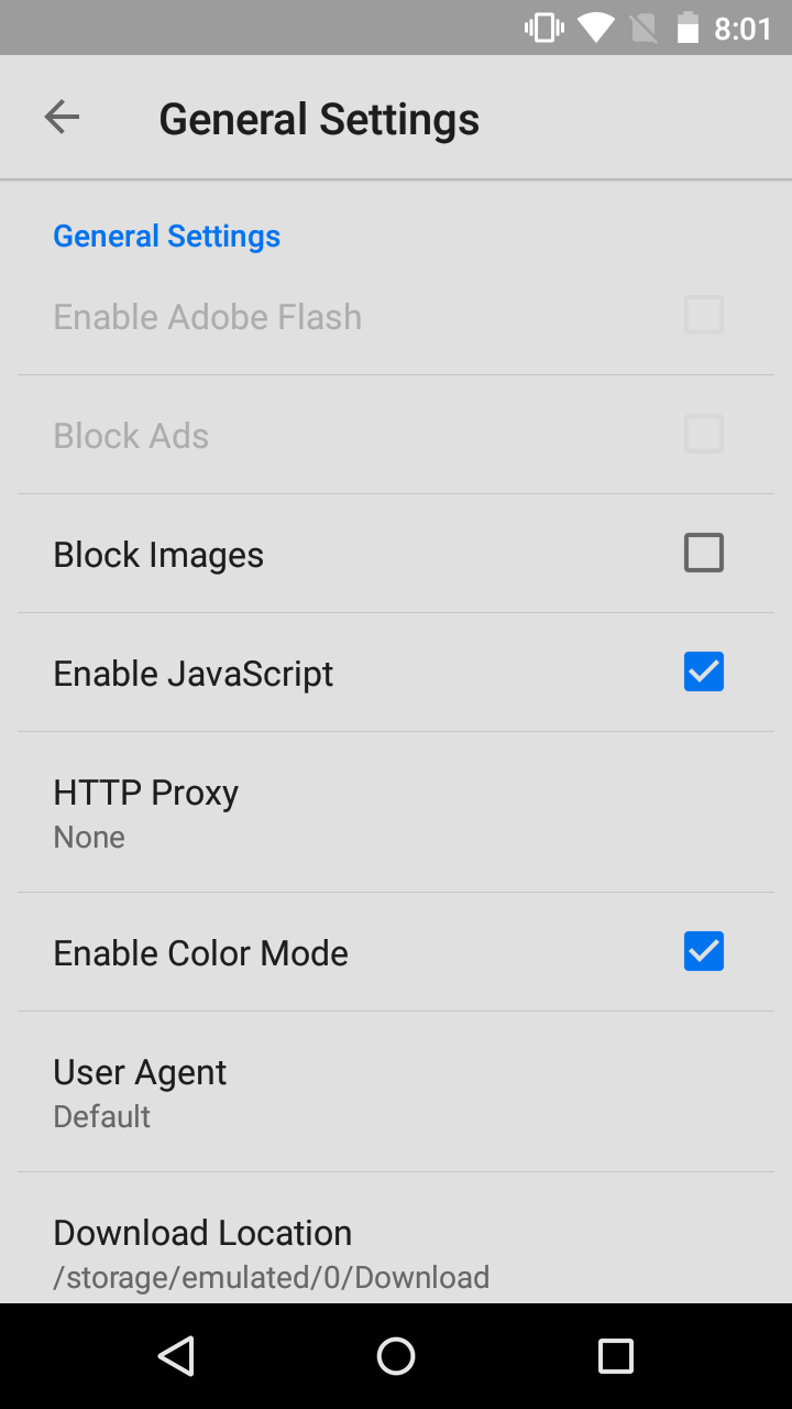 Puffin Browser Proxy
