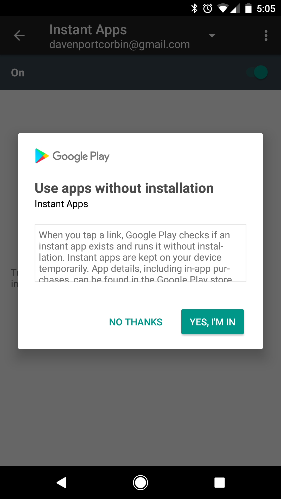 Any developer can now make Instant Apps for Android