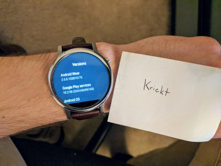 Android Wear 2.0 is Now Rolling Out to the 2nd-generation Moto 360