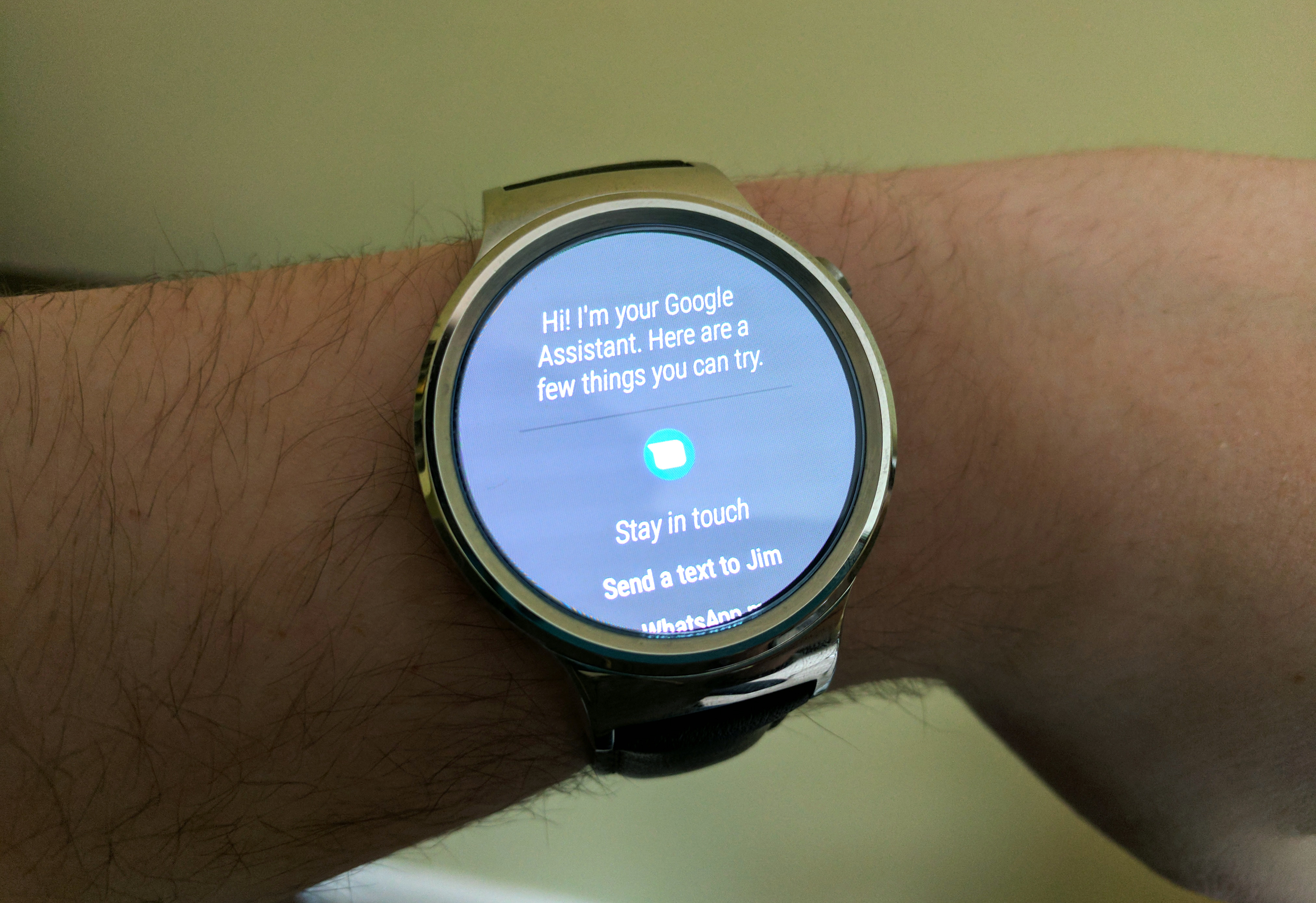 cheap android wear os watch
