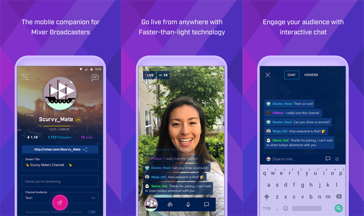 Microsoft rebrands its Twitch rival to Mixer, adds co-streaming