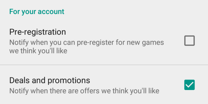 Google Play Store Now Supports Notifications For Promotions