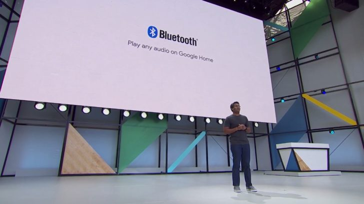 Google Home's Bluetooth functionality seems to be live now, for real