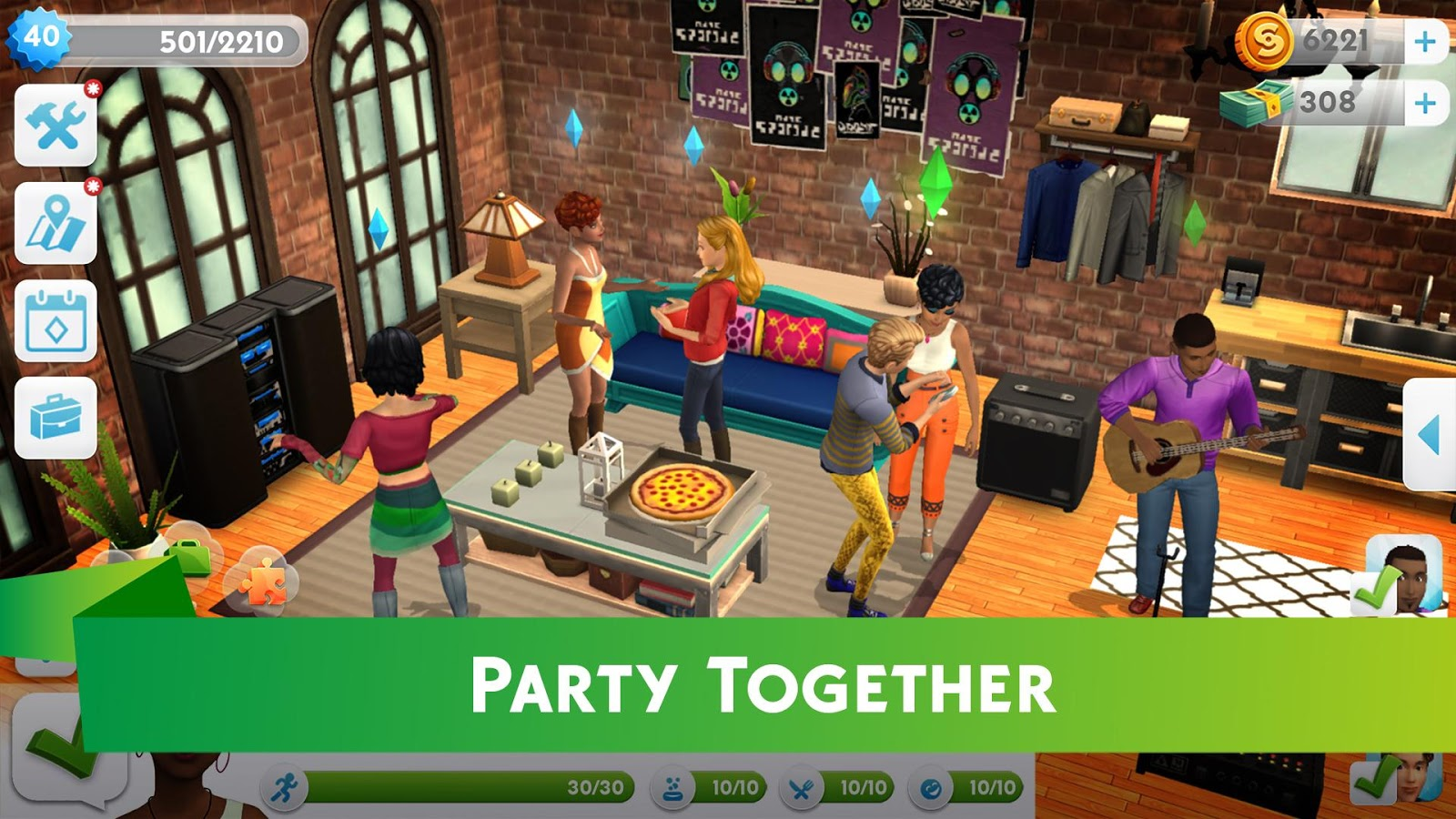 The sims mobile is out as a soft launch title currently available in brazil - Sims 2 downloads mobel ...