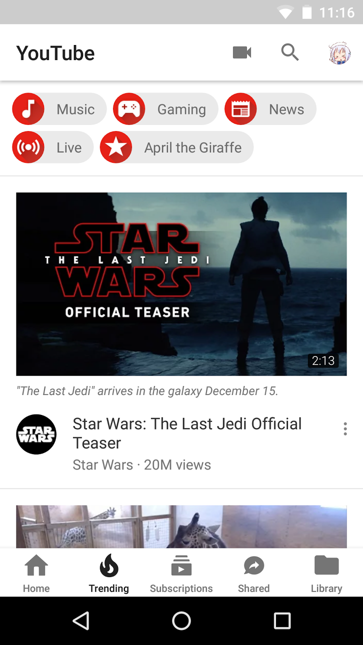 Google is testing a new YouTube app UI that is all white ...