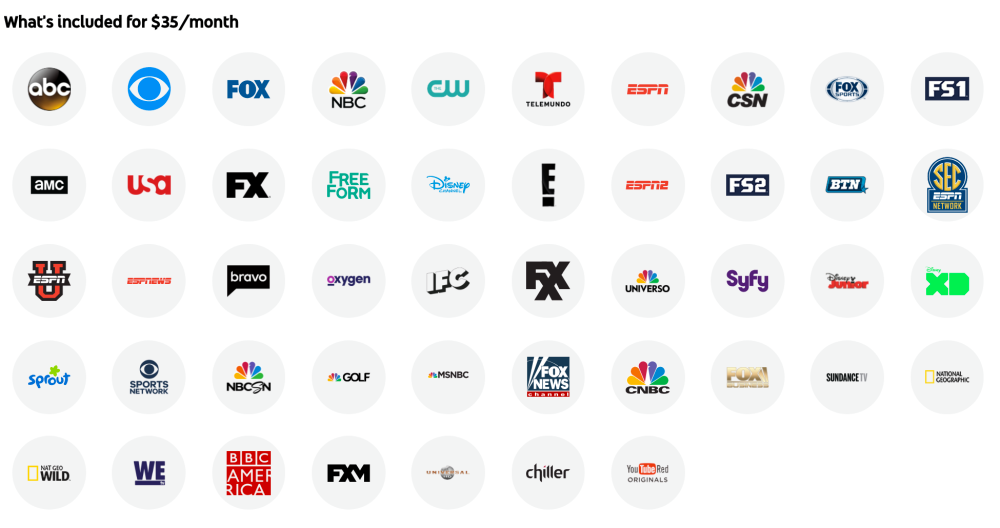 YouTube TV adds AMC, BBC America, and five other channels to the