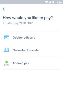 Android Pay - Step 1