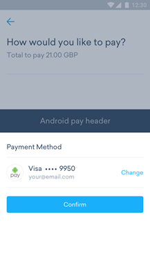 Android Pay - Step 2