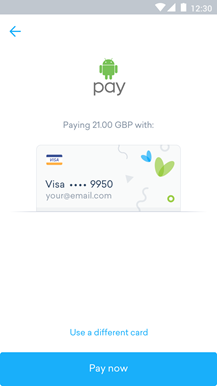 Android Pay - Step 3