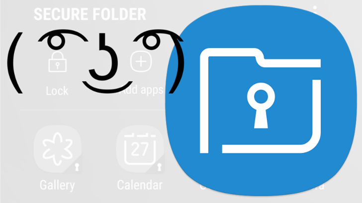 Samsung's Secure Folder lands in the Play Store