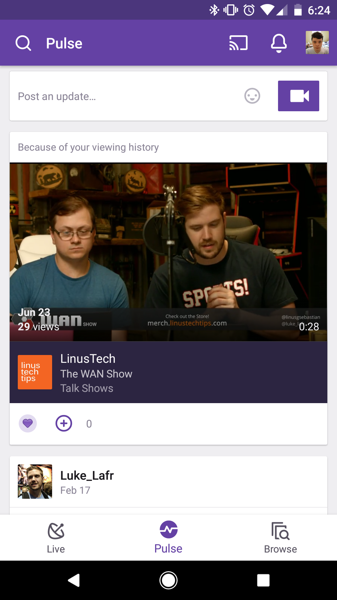 Twitch app updated with new UI, mobile streaming, and more [APK