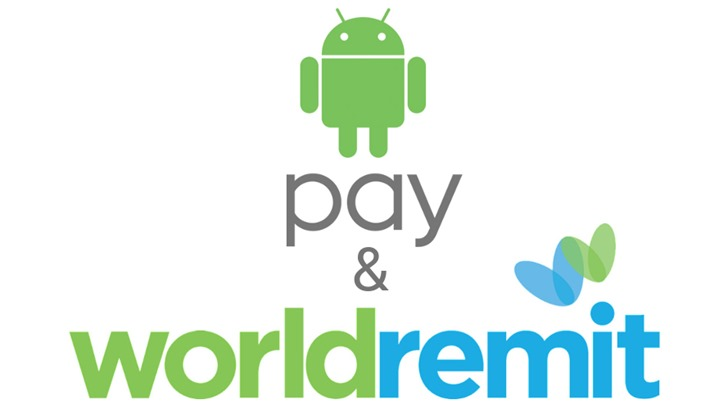 World Remit Android Pay Hero