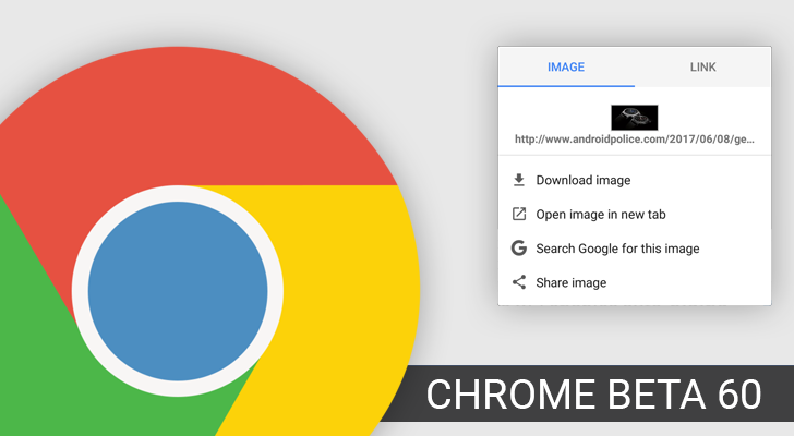 Chrome Beta 60 adds new search widget, limits the Vibration
