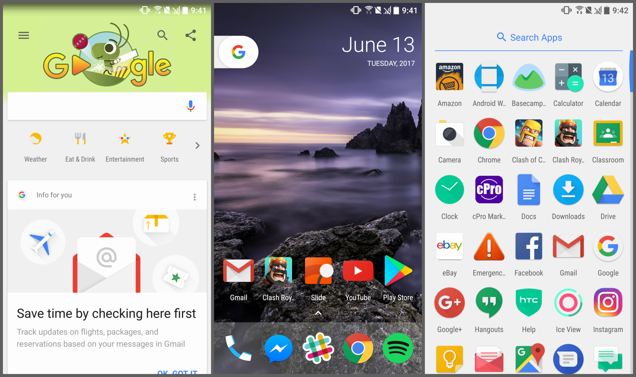 Modified Pixel Launcher APK enables the Google Now pane and other Pixel-exclusive  features to work