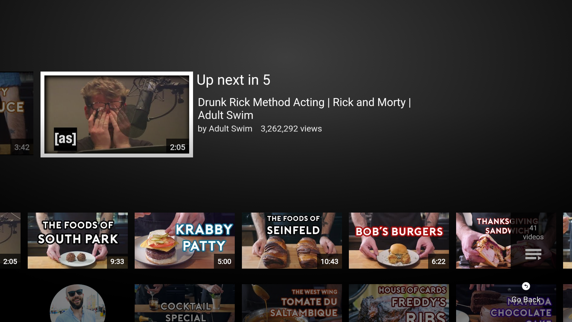 Update: arm APK] YouTube for Android TV v2 0 brings a major