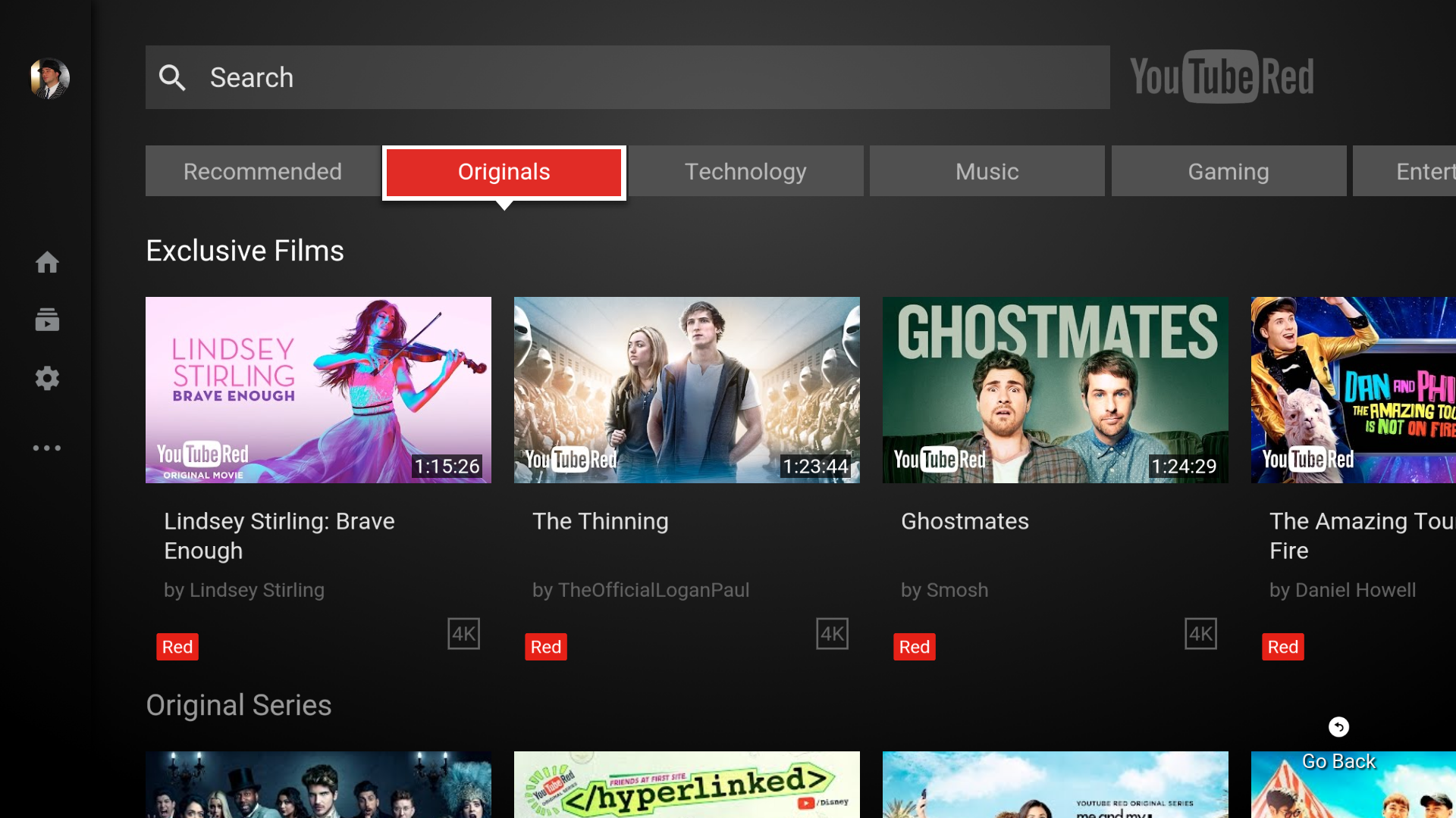 Update: arm APK] YouTube for Android TV v2 0 brings a major redesign