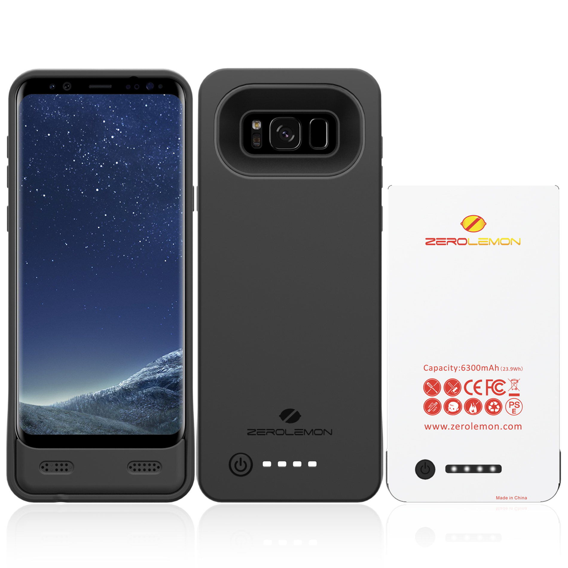 Zerolemon Releases Battery Cases For The Samsung Galaxy S8
