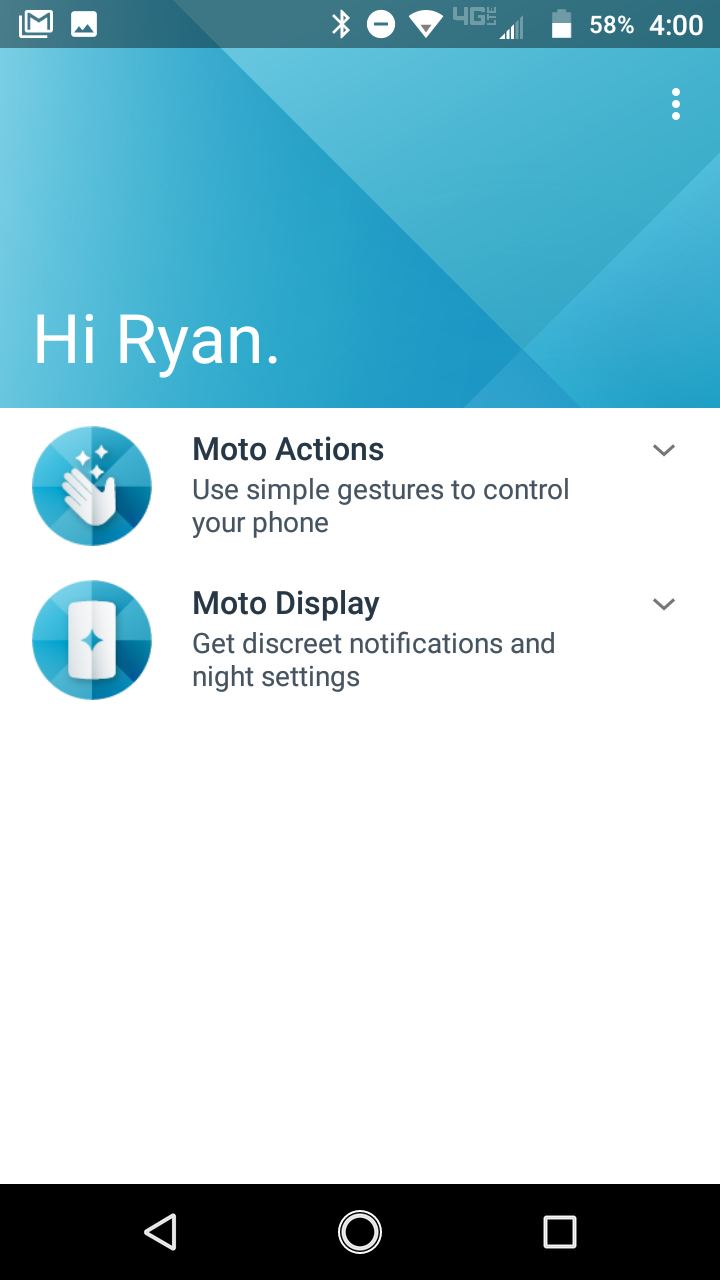 It Uses Motorola's Pixellike Launcher With The Google Feed On The Left And  A Swipeup App Drawer