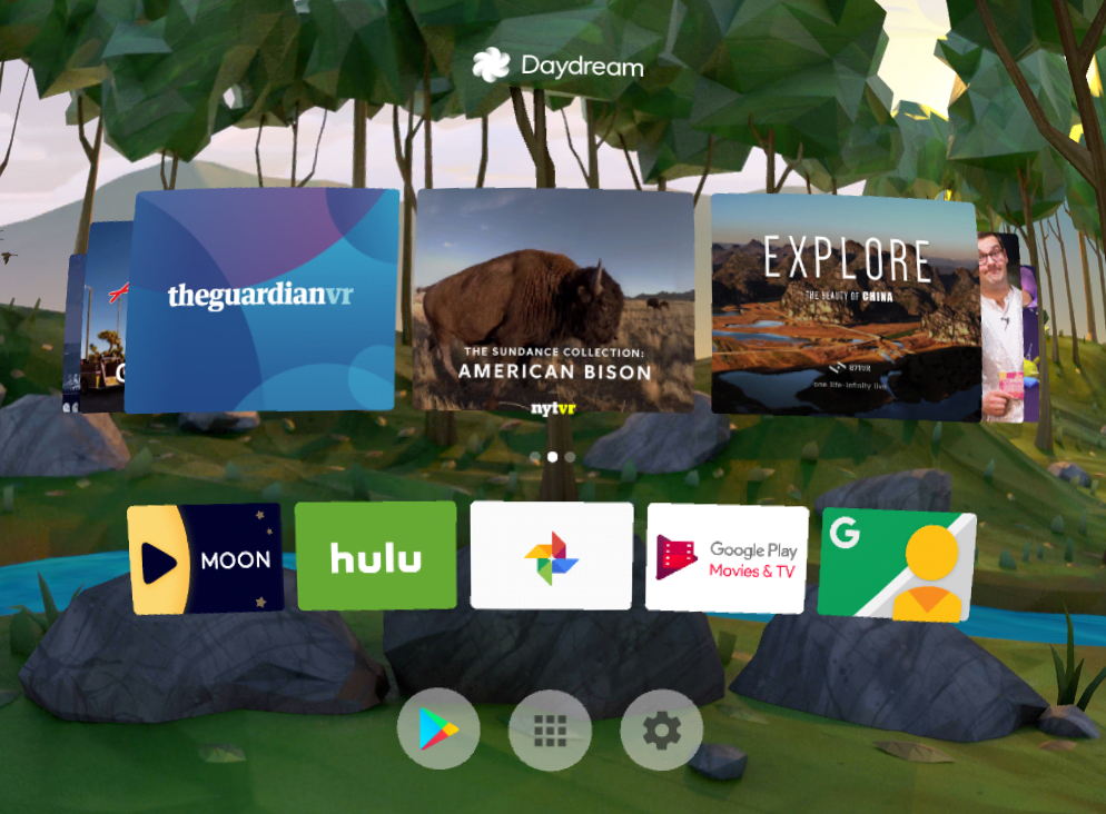 Daydream v1 7 is rolling out with redesigned home, controller