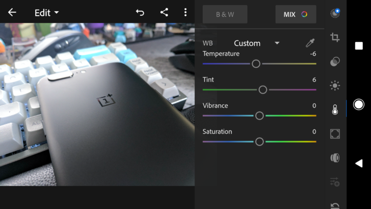 Redesigned Adobe Lightroom for Android announced