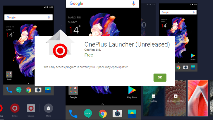 Update: And it's gone] OnePlus Launcher is now on the Play Store in