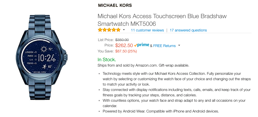 e1873bdc7518 michael kors Archives - Android Police - Android news