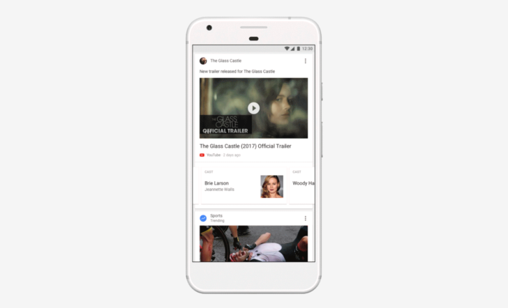 Google app gets new newsfeed experience