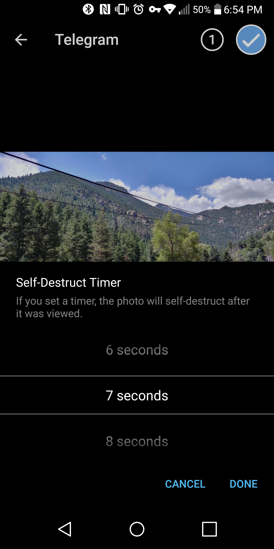Telegram 4 2 brings self-destructing media, profile bios