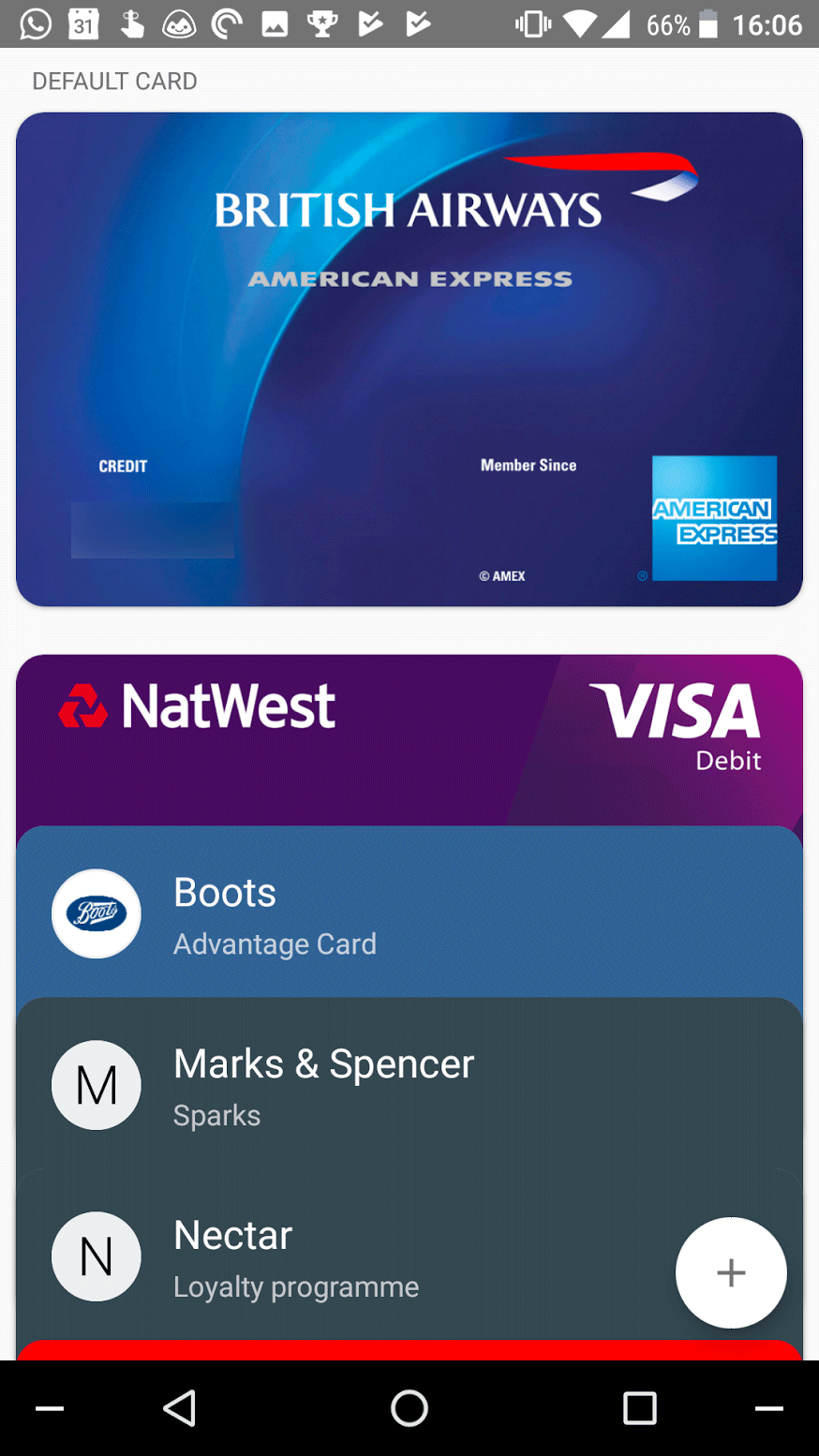 American express adds android pay support in the uk finally my calls have been answered and amex cards now work with googles mobile payments app here in the uk reheart Choice Image