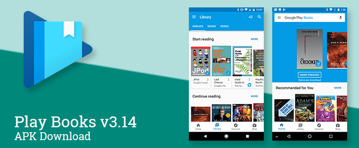 Update: Official changelog] Play Books v3 14 brings an overhaul of